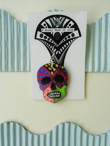 Sugar Skull Earring 19