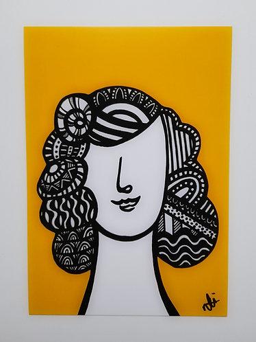 Art Card Hey Girls Retro 27 30's