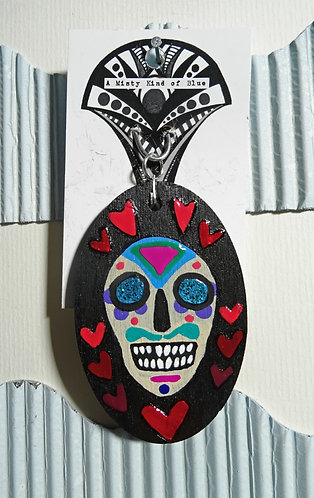 Sugar Skull Necklace Pendant 16