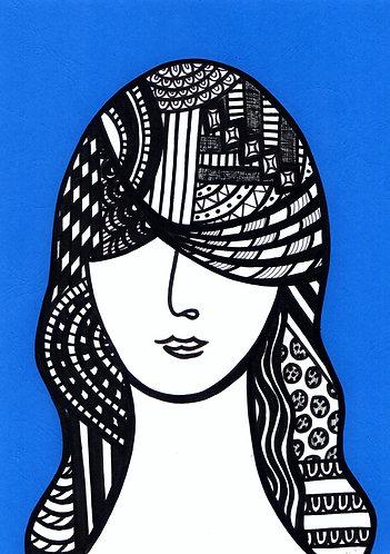 Art Card Hey Girls 28