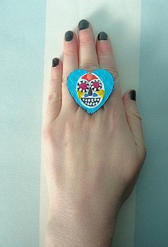 Sugar Skull Ring 6