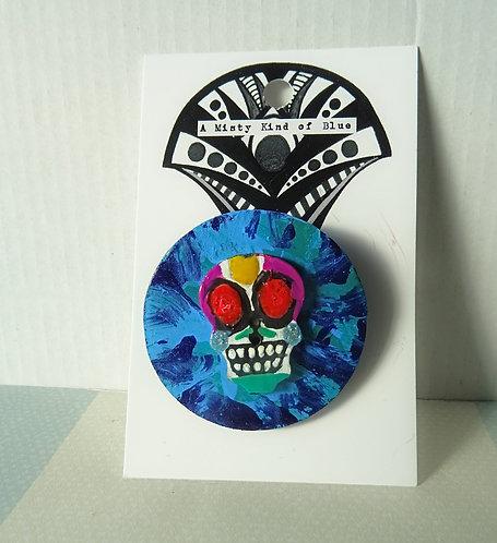 Sugar Skull Pin 4