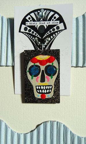 Sugar Skull Necklace Pendant 12