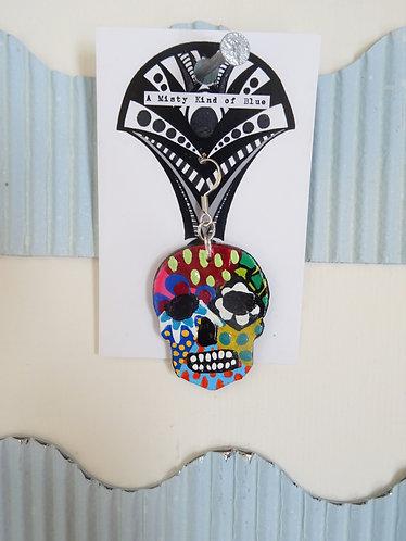 Sugar Skull Earring 9