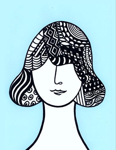 Art Card Hey Girls 16