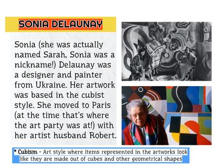 Artist Nugget -Sonia Delaunay