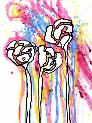 Unicorn Roses (Original)