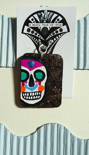Sugar Skull Necklace Pendant 10