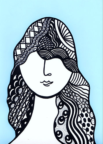 Art Card Hey Girls 4