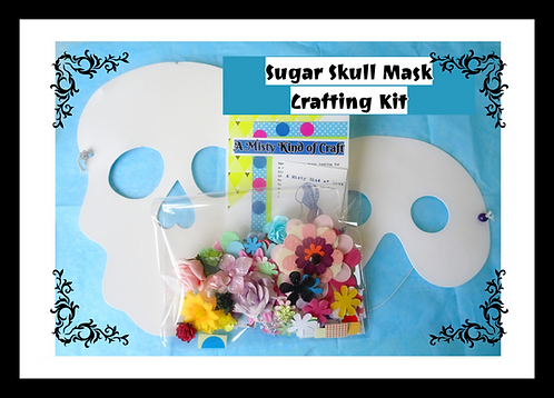 Craft Kit - Sugar Skull Mask