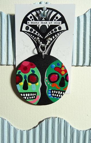 Sugar Skull Necklace Pendant 26