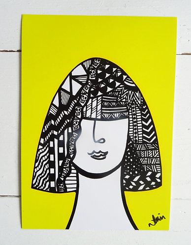 Art Card Hey Girls Halloween 4