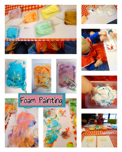 Messy Play 2 -Foam Painting