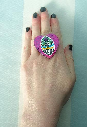 Sugar Skull Ring 7