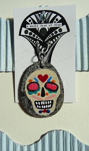 Sugar Skull Necklace Pendant 13