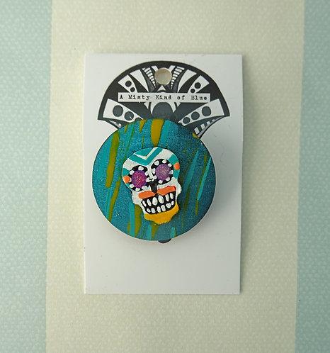 Sugar Skull Pin 5