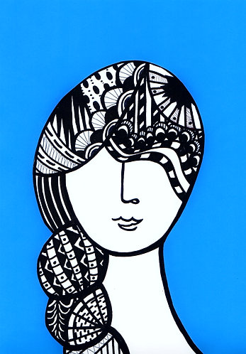 Art Card Hey Girls 17