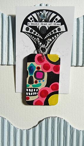Sugar Skull Necklace Pendant 15