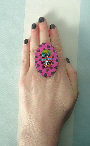 Sugar Skull Ring 2