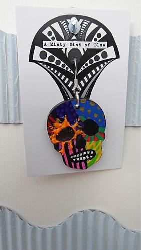 Sugar Skull Earring 5