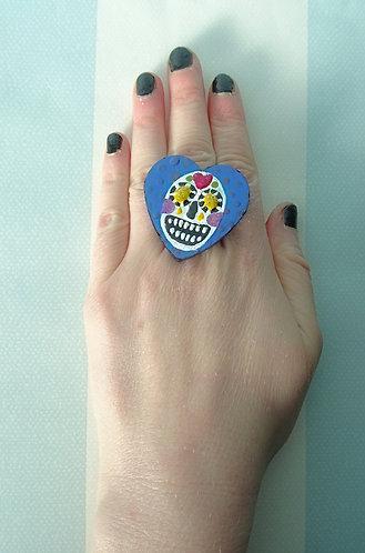 Sugar Skull Ring 5
