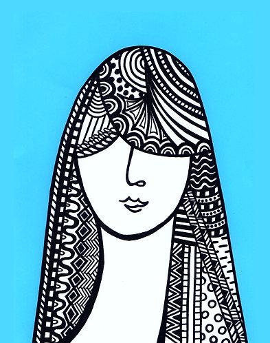 Art Card Hey Girls 12