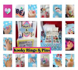 Kooky Rings & Pins