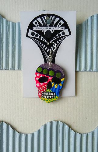 Sugar Skull Earring 26