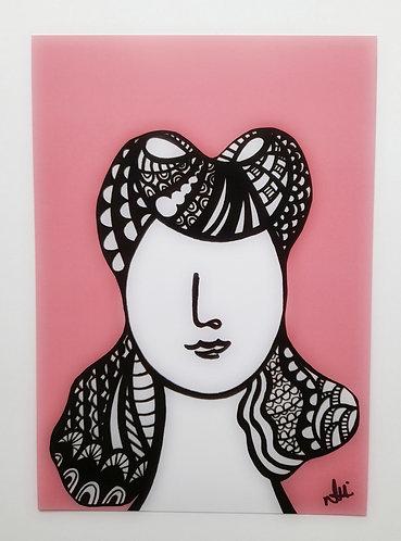 Art Card Hey Girls Retro 19 30's