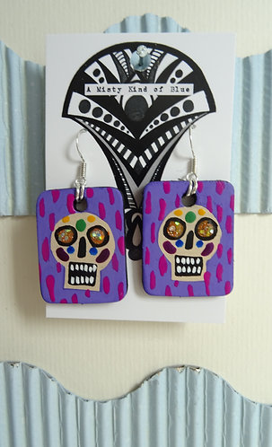 Sugar Skull Earrings 2