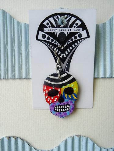 Sugar Skull Earring 22