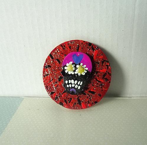 Sugar Skull Pin 6