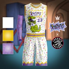 Rugrats x Raptors Jersey Concept