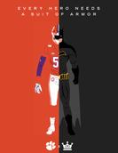 Suit of Armor x Batman