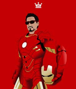 Iron Man Low Poly