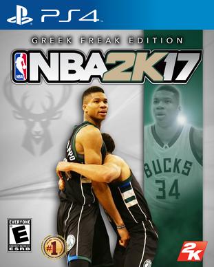 NBA 2k17 Greek Freak Edition