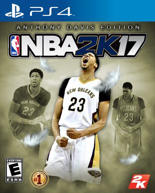 NBA 2k17 Anthony Davis Edition