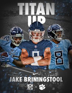 Jake Briningstool Titans Swap