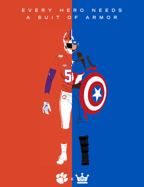 Suit of Armor x Captain America