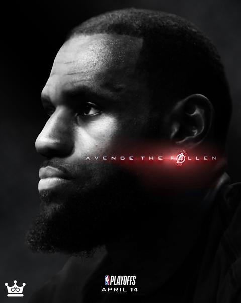 Lakers Avenge The Fallen Poster