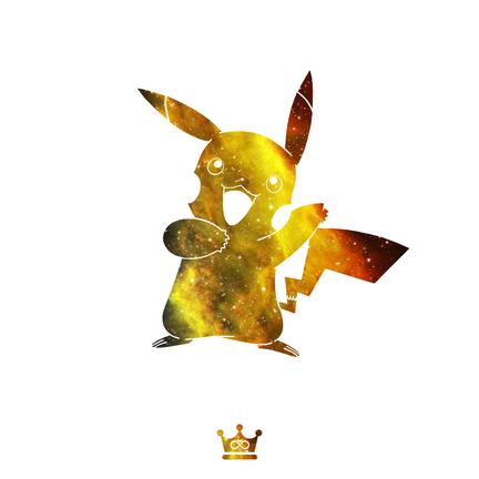 Galaxy Pikachu
