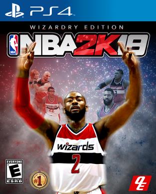 NBA 2k18 Wizardry Edition