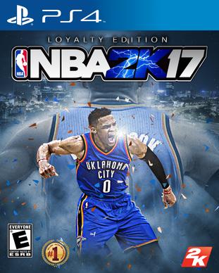 NBA 2k17 Loyalty Edition