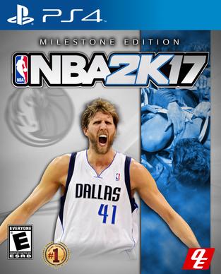 NBA 2k17 Milestone Edition