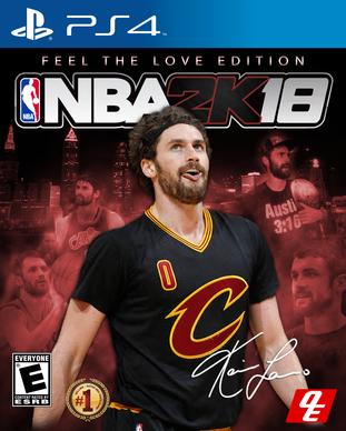 NBA 2k18 Feel the Love Edition