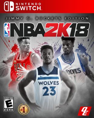 NBA 2k18 Jimmy G. Buckets Edition