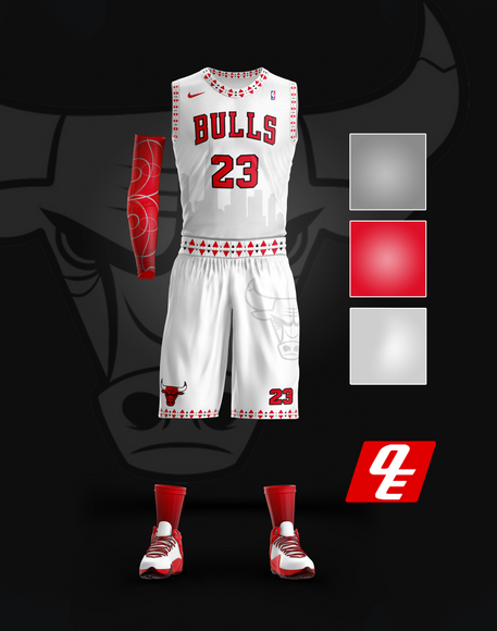 Chicago Bulls Home Jersey
