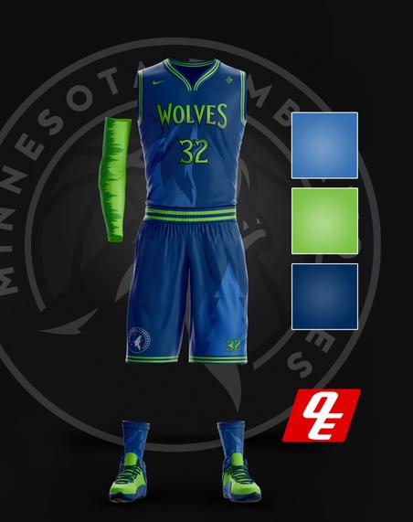 Timberwolves Alternative Jerseys
