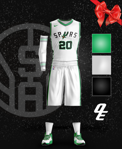 Spurs Christmas Jersey
