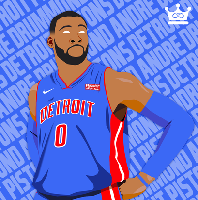 Andre Drummond Low Poly